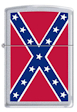 Custom Confederate Flag Rebel Flag Zippo Lighter