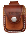 Lighter Pouch w/Loop Brown - LPLB Zippo